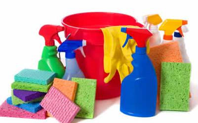 Moving In and Out Guide - Cleaning products