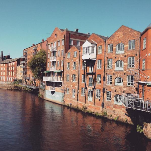 This week in Leeds - Leeds canal