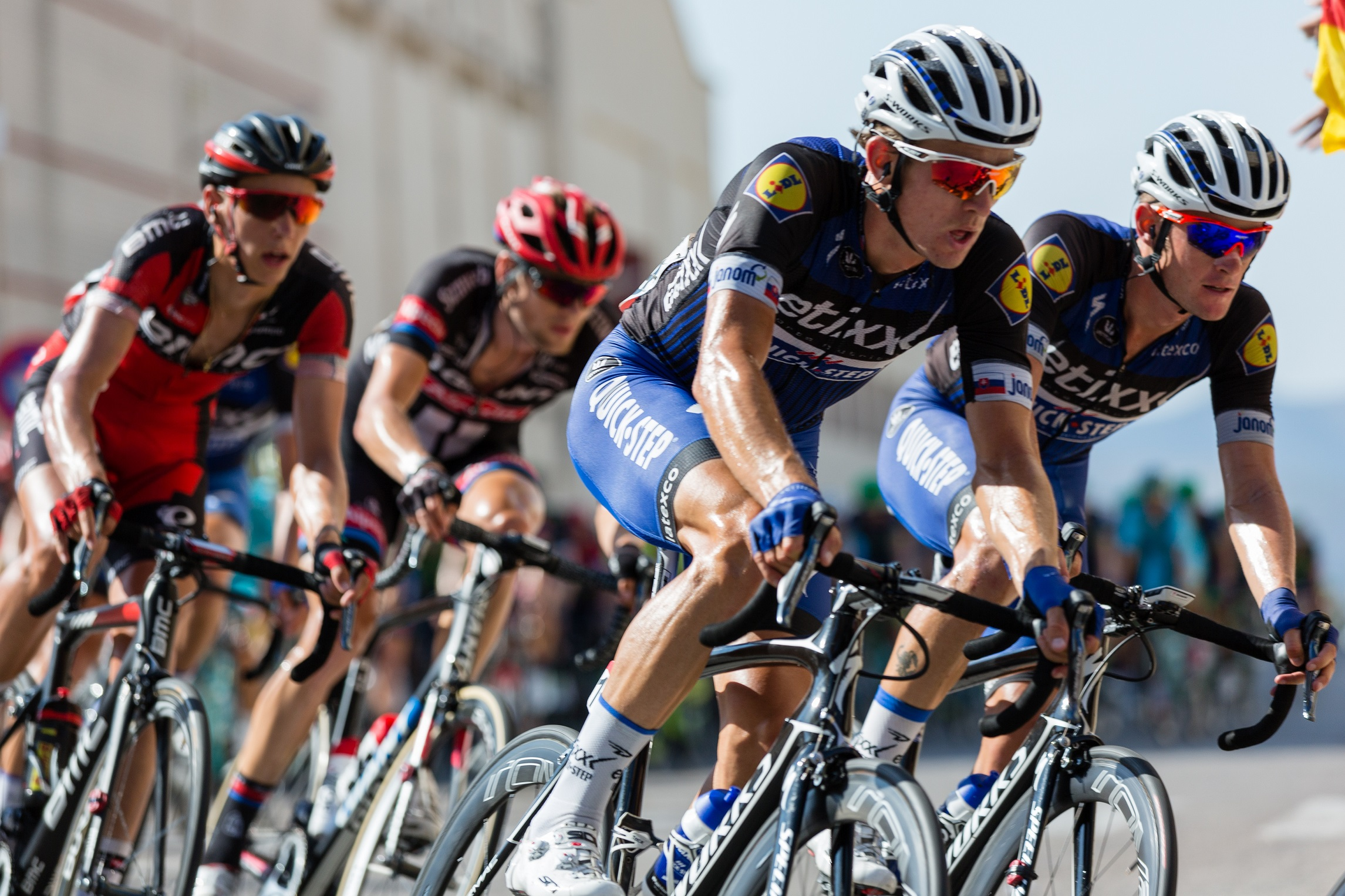 World Series Triathlon - Cyclists