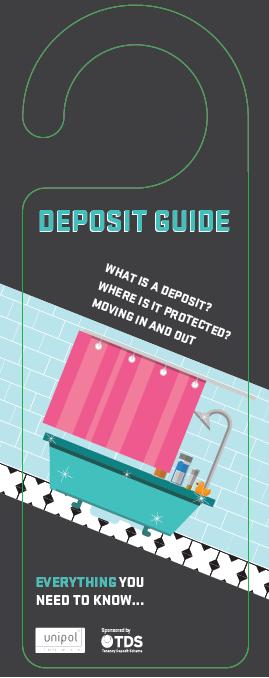 How to get your deposit back hanger
