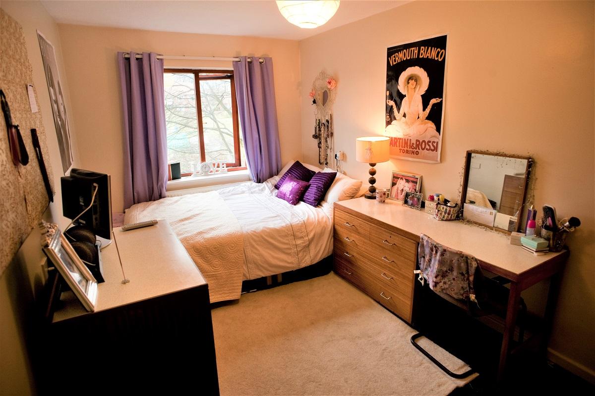 Preparing for university - Bedroom