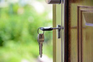 Moving in- Key in door