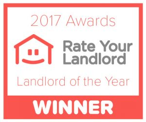 Rate Your Landlord Awards - sticker