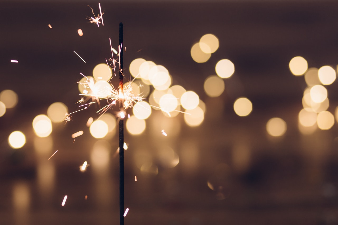 Sparkler - bonfire night