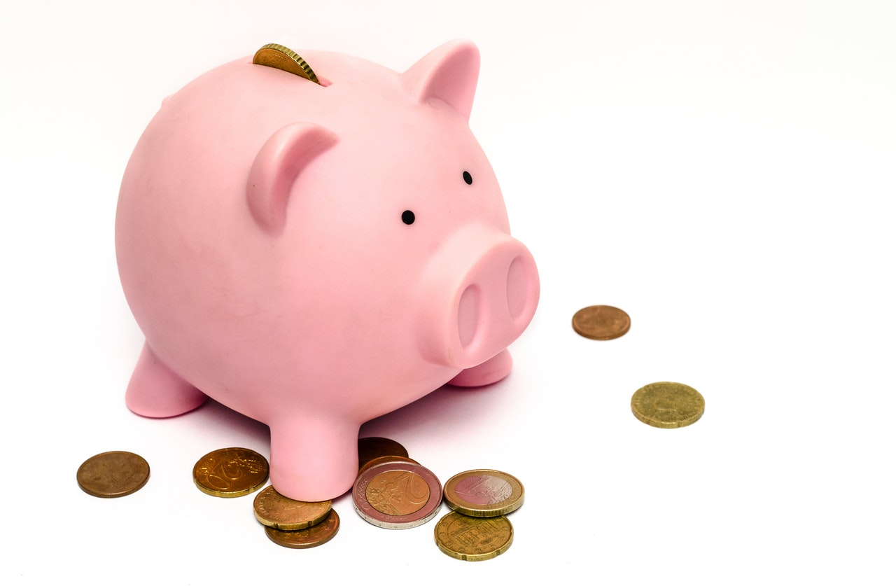 Making your money go further - piggy bank