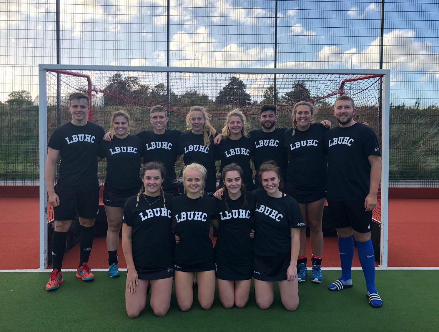 Leeds Beckett Hockey Club - team photo
