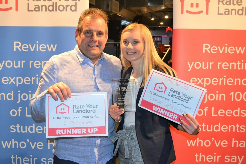 Rate Your Landlord Awards 2019 - Landlord of the Year Winner